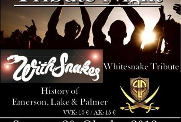 Tribute Night – WithSnakes – H E L P 20.Oktober